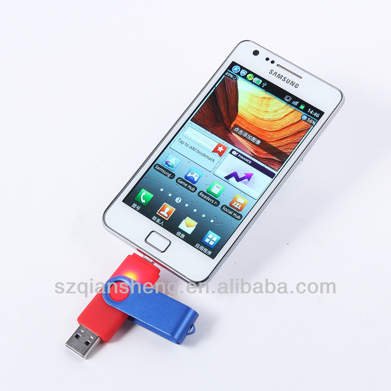 Hot Selling smartphone USB flash drive ,USB 2.0 flash drive, Mobile phone usb flash drive