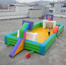 Inflatable Football/Basketball/Soap Football Court A6024