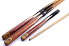 First-rate 3/4 joint snooker cue gunman 3 piece pool cue ash wood snooker cue