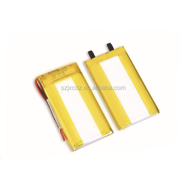 China factory 3.7v 250mah li ion polymer battery with pcm