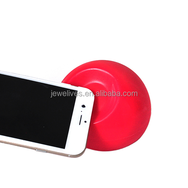 Cool novelty silicone ball sofa shaped mobile phone support