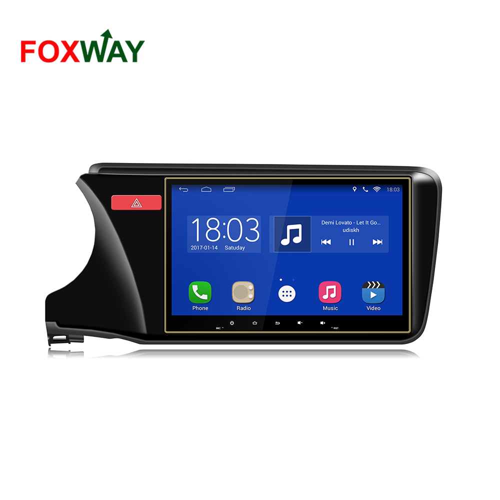 4G LTE android car audio system for honda city