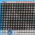 Black Brown 1x1 vinyl mesh fabric for making pool fence