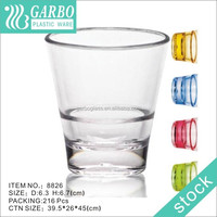 Plastic Unbreakable Glass,Polycarbonate Tumbler , high quality clear STOCK available plastic drinkware