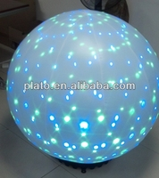 colorful led light giant ground balloon for decoration