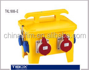 TIBOX iec mobile power socket equipment box