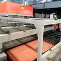 Fireproof mgo wallboard production line