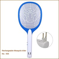 Swatters Pest Control Type And Mosquitoes Pest Type Mosquito Bat / Mosquito Swatter With Led