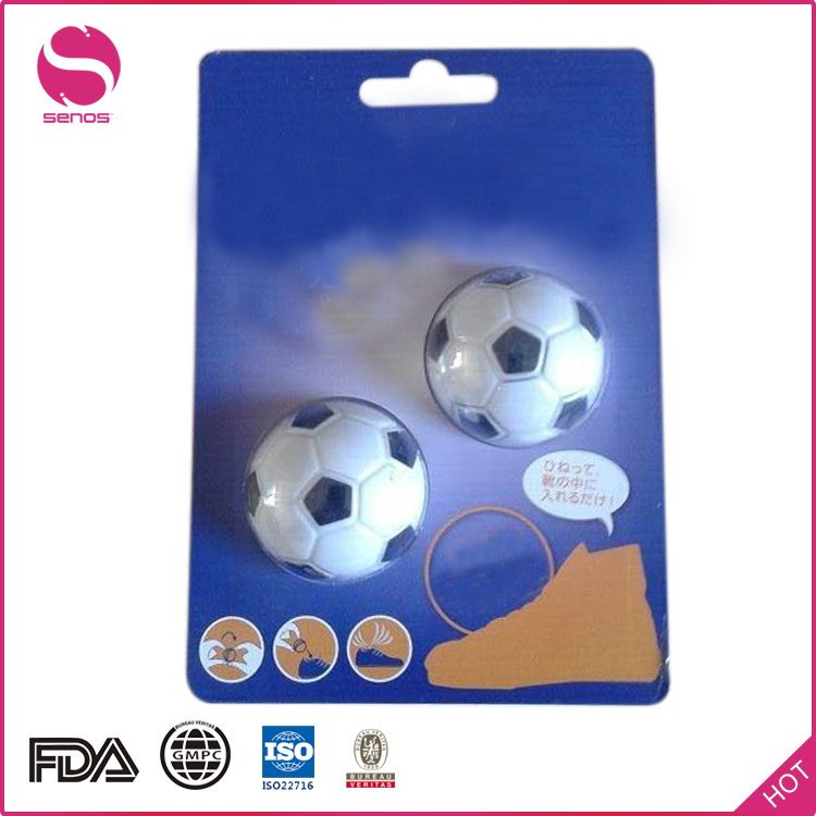 Senos Manufacturer Stocked Football Shaped Air Freshener Deodorants Balls For Shoes