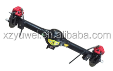 electric tricycle motor/electric car rear differential rear axle /rickshaw tricycle rear axles Disc Brake Integrated