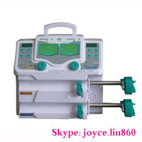 Lab & medical device electric double channel syringe pump