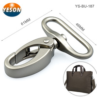 Bag Accessories Matt Nickel Zinc Alloy