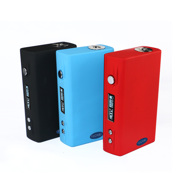 Huge vape 100% authentic sigelei fuchai 200w tc box mod ecigs fuchai 200w in stock from kebo