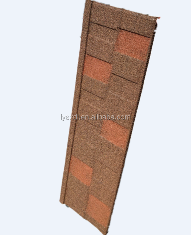 Stone coated metal roof tile/aluminum zinc roofing shingle/colorful sand coated steel roof