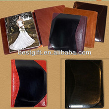 Fashion leather albums western leather photo album