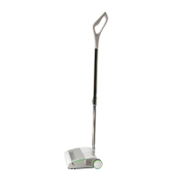 Manual stick vacuum cleaner, cordless electric floor sweeper, hand held floor and carpet cleaner