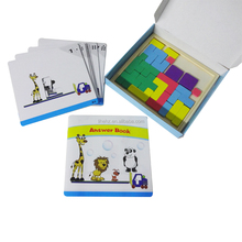 High quality educational block puzzle game for children