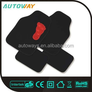 Anti-slip Black Universal Carpet Car Mat