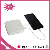 Patent product Fashion led cosmetic mirror with 3000mAh power bank for ladies