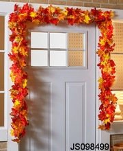 Maple leaf garland, for hanging door, for Autumn decoration