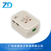 2 usb charger electrical adapter