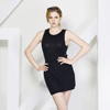 new ladies modern sexy slim-cut one-piece dress girls sleeveless short dress