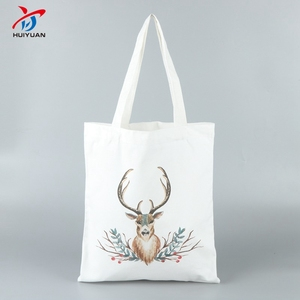 Custom bags 100% cotton plain big carry shopping tote bag