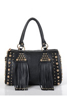 wholesale fringe tassel fashion bags ladies handbags Wholesale Lady PU Leather Handbag Tassel bag