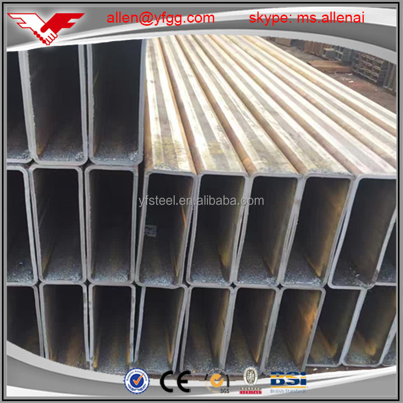 50x50 Cold Formed low carbon square and rectangular hollow steel pipe and tube