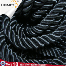 High quality polyester Braided black rope 2mm diameter curtain string
