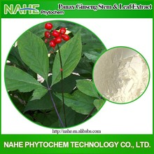 2015 fresh Extraction of Ginseng stems and Leaves for Energy Saving