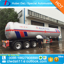 52000 Liters LPG Trailer Price LPG Tank Trailer for sale