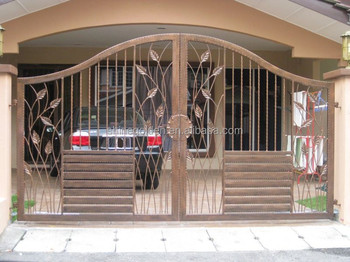 Yard guard fence gate &Fence gate and Gate grill design SG-15G006