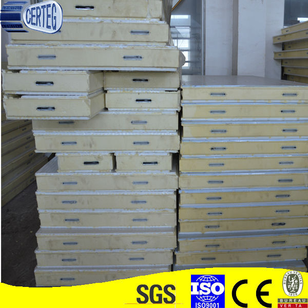 Frp And Polyurethane Foam Sandwich Panels,Second Hand Cold Room Panels,Pu Panel For Coolroom