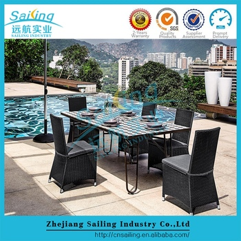 Sailing Wholesale Customized Catalina Wicker Used Home Goods Patio Furniture