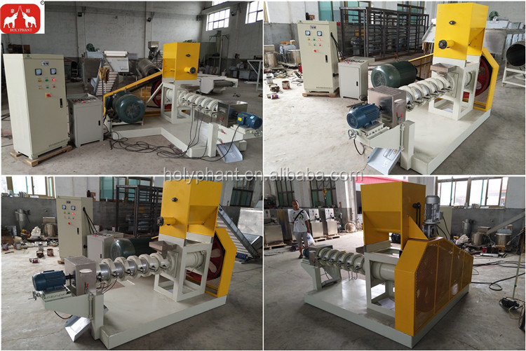 40 years experience 120-4000kg/h Floating Fish Feed Extruder Machine