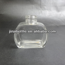 2014 new shape glass car aroma diffuser bottle