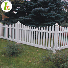 PVC Fence/PVC Portable Garden Picket Fence Panels