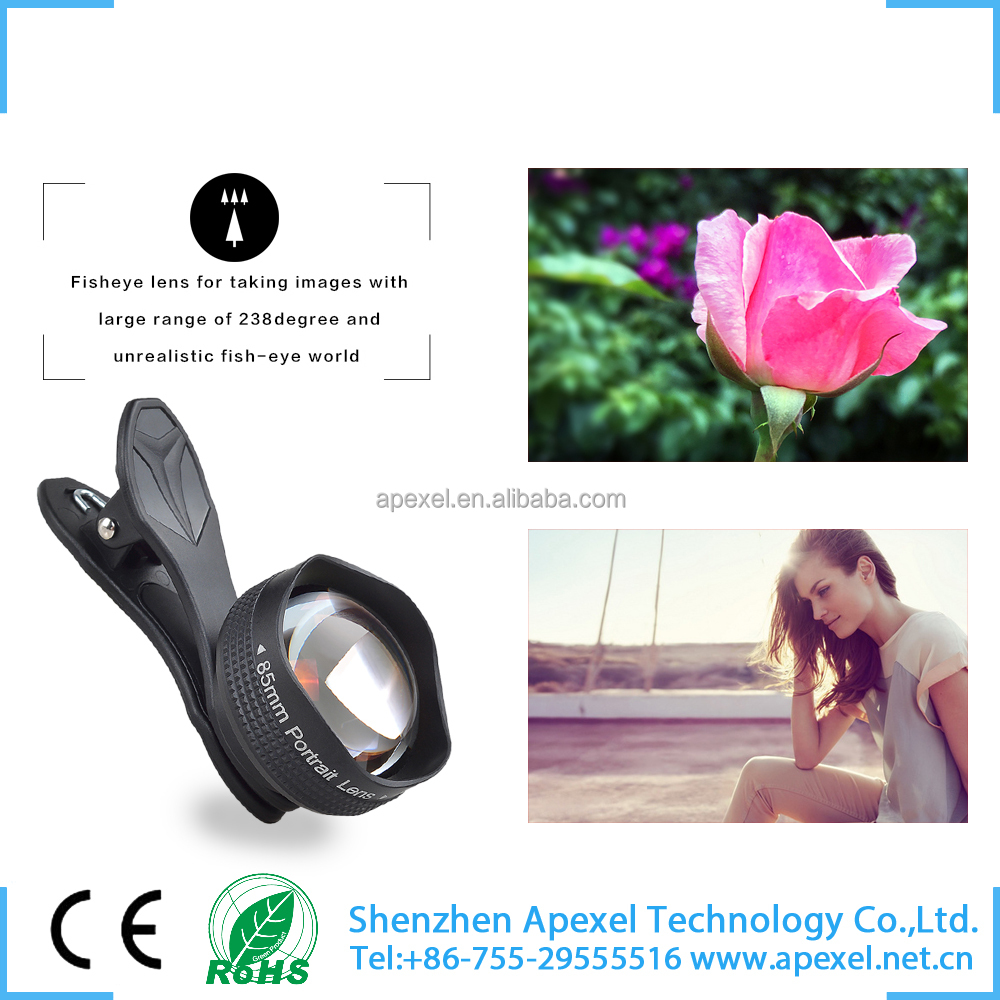 latest mobile accessories for iphone6/6s/plus factory rent in china fixed focus 2x telescope lens
