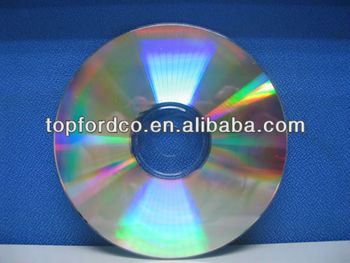 Shiny Silver blank cdr 700MB 52X A Grade