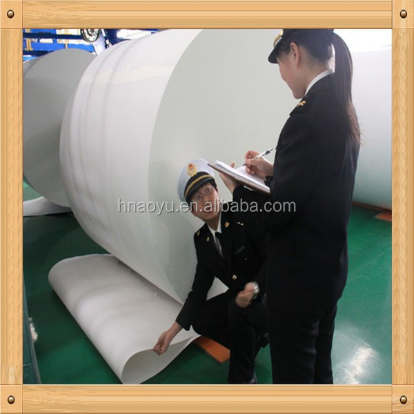 wood pulp white cardboard paper/high bulk white card board