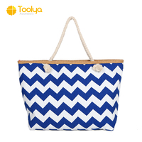 Eco Flamingo designer Handle storage waterproof jute carry gift Shoulder Shopping Cotton travel lady hand Canvas Tote Beach Bag