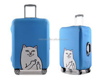 blue bear Trolley Case Travel Tour suitcase protection cover