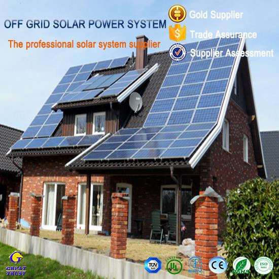 1500w solar panel for solar power system home with CE certificate