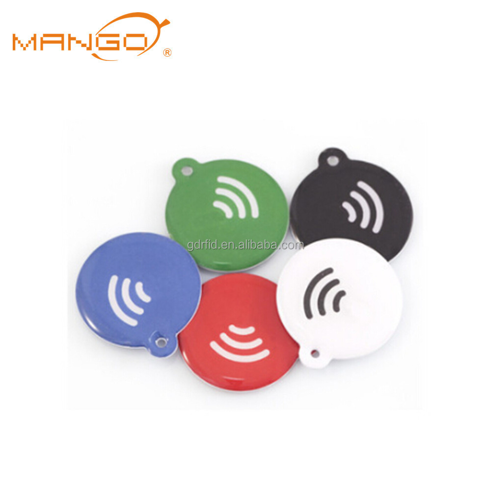 iso144443a 13.56mhz rfid nfc writable pet id collar epoxy disc tag