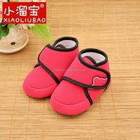 2016 New Classic Fashion Soft Leather Baby Boots