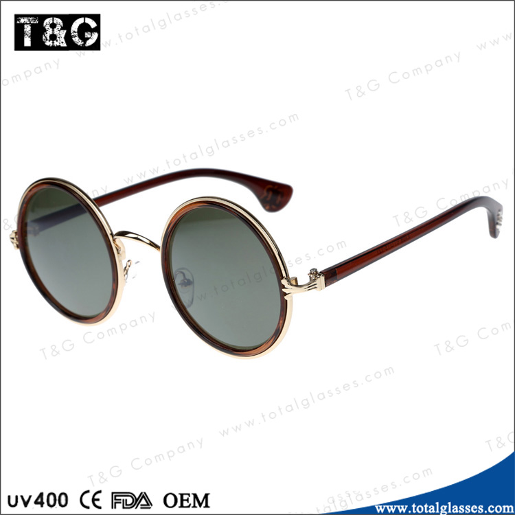80's vintage round sunglasses women custom glasses promotional eyewear hot selling in market