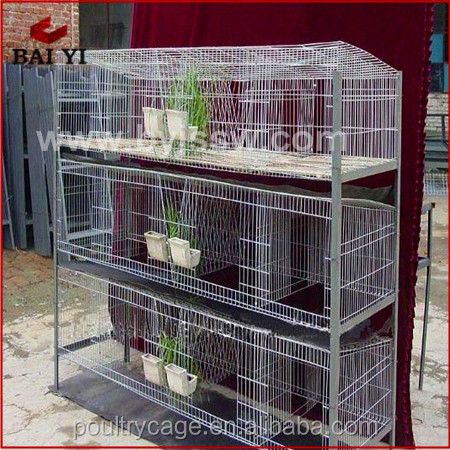 Cheap Metal Rabbit Hutches And Cage For Breeding Rabbits(H type ,alibaba supplier,Made in China)
