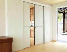 UPVC sliding double glass doors home interior cheap price door profile pvc frame hot sale