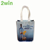 2017China wholesale Promotional Cheap Ecological metallic image pp non woven shopping bag